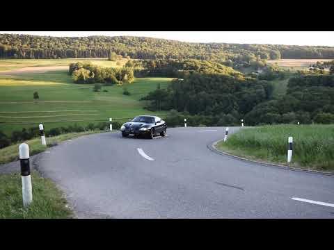 2000 Jaguar XKR Coupe Vorbeifahrt 2