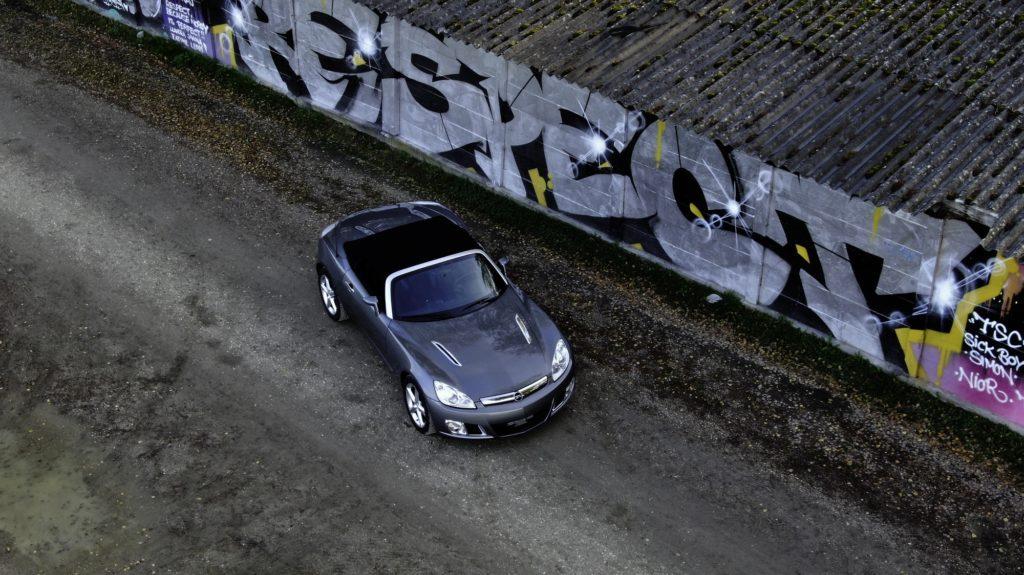 2007 Opel GT 2.0 Turbo Luftaufnahme Aerial View