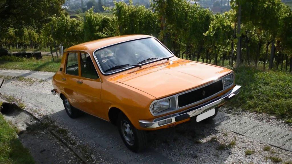 1977 Renault 12 TL Vorbeifahrt
