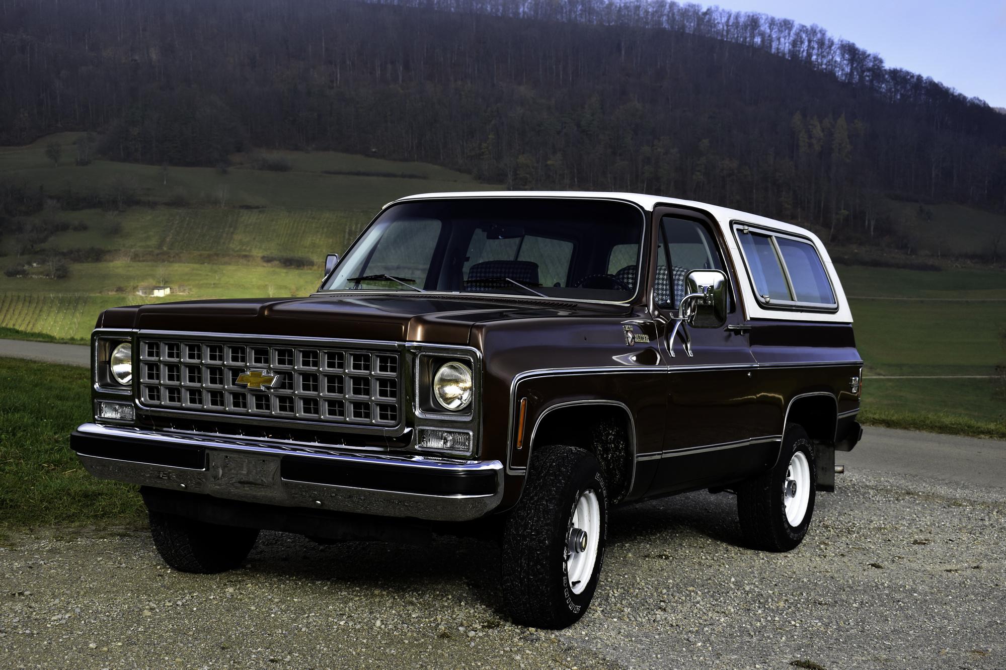 Versteigerung Auktion 1980 Chevrolet Blazer K5 Dreiviertelansicht vorne links
