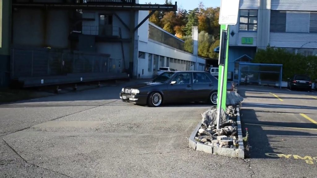 1992 Lancia Thema 2.0 Turbo 16V Vorbeifahrt