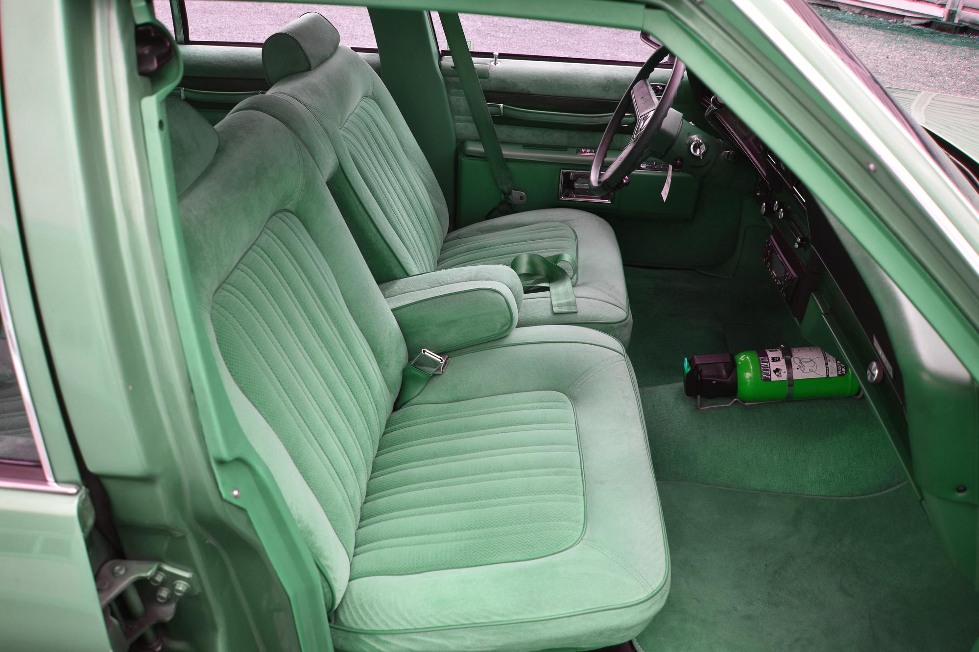 Erste Sitzreihe eines 1990 Chevrolet Caprice Classic Station Wagon