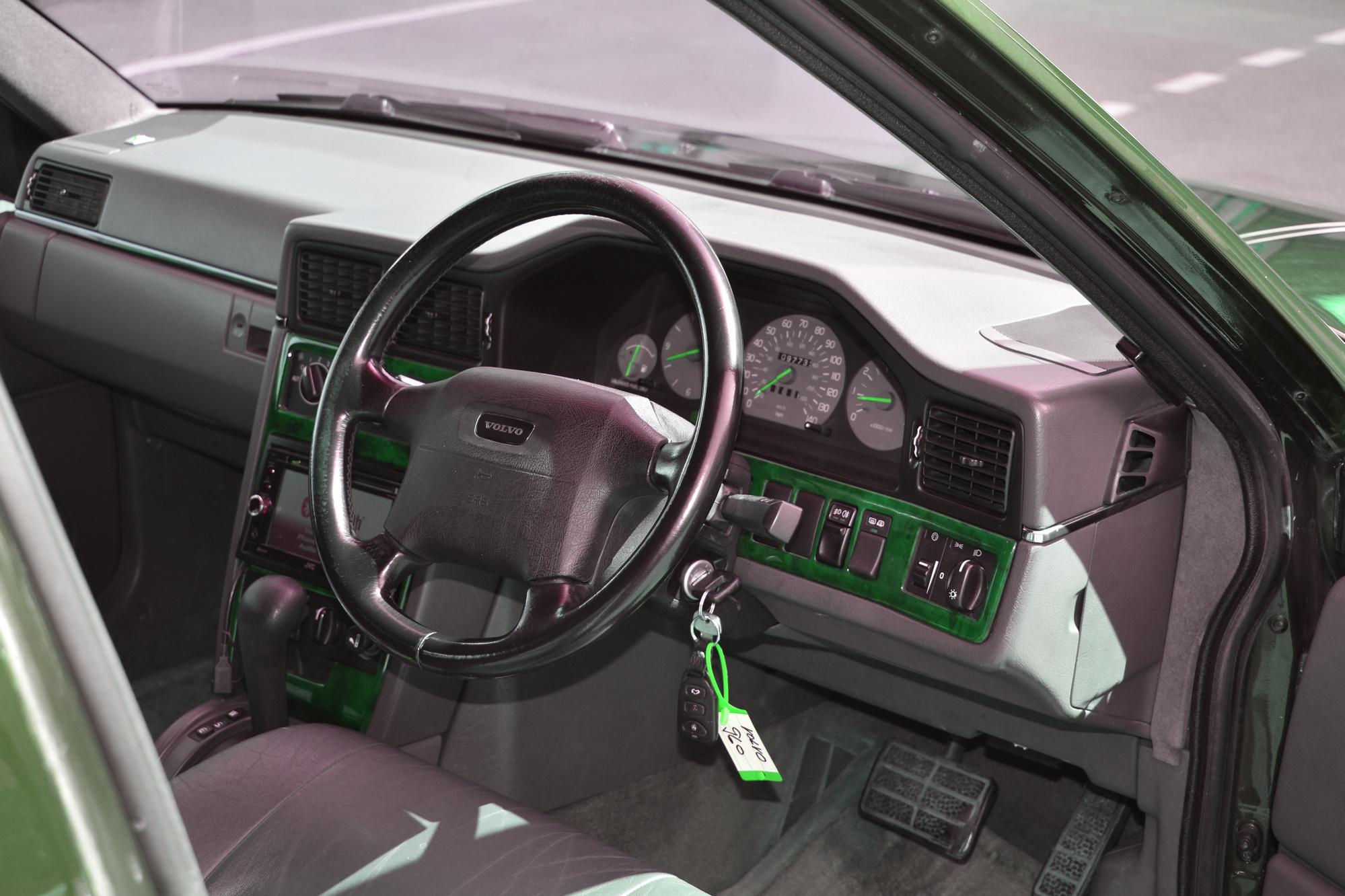 Fahrgastzelle einer Volvo 960 Stretch Limousine